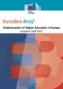 Eurydice Brief: Modernisation of Higher Education in Europe: Academic Staff – 2017