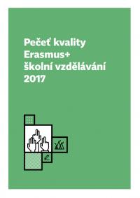 Pečeť kvality Erasmus+ školní vzdělávání 2017 obalka