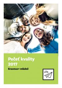 Pečeť kvality 2017 Erasmus+ mládež obalka