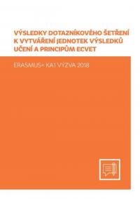 Výsledky dotazníkového šetření k vytváření JVU a principům ECVET