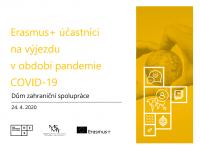 Erasmus+ účastníci na výjezdu v období pandemie COVID-19