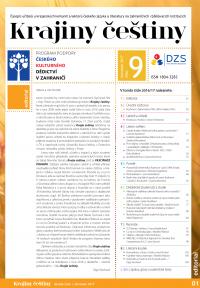 Krajiny češtiny 2017 (obálka)