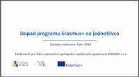 Dopad programu Erasmus+ na jednotlivce