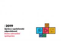 Zpráva o společenské odpovědnosti Domu zahraniční spolupráce 2019