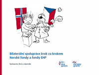 Bilaterální spolupráce krok za krokem, Norské fondy a fondy EHP (obálka)