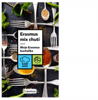 Erasmus mix chutí aneb Moje Erasmus kuchařka (obálka)