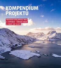 Norské fondy - kompendium projektů (obálka publikace)