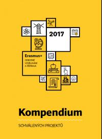 Kompendium schválených projektů Erasmus+ odborné vzdělávání a příprava 2017 (obálka)