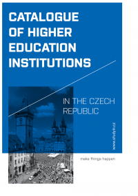 CATALOGUE OF HIGHER EDUCATION - STUDYIN.CZ (OBÁLKA PUBLIKACE)
