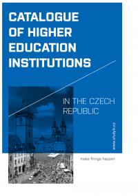 CATALOGUE OF HIGHER EDUCATION - STUDYIN.CZ (OBÁLKA PUBLIKACE)