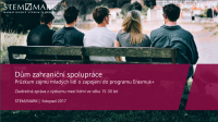 Výzkum Zájem mladých lidí o program Erasmus+