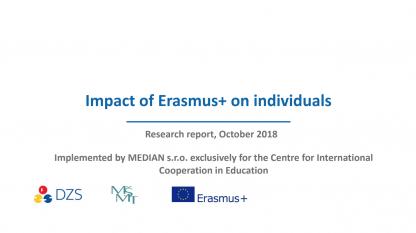 Impact of Erasmus+ on individuals