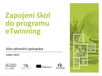 Zapojení škol do programu eTwinning_úvodní strana